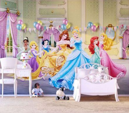 Disney Premium wall mural Princess 2